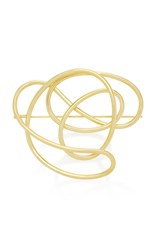 Joanna Laura Constantine Gold Plated Knot Brooch