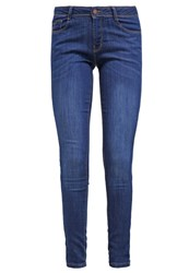 Dorothy Perkins Bailey Slim Fit Jeans Blue New Midwash Blue Denim