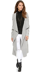 Ramy Brook Raven Cardigan Heather Grey