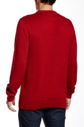 Volcom Santa Knit Sweater Red
