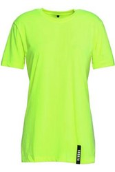 Versus By Versace Neon Jersey T Shirt Bright Yellow