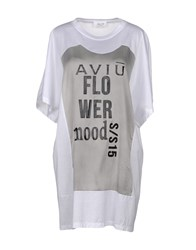 Aviu Short Dresses White