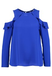 Dorothy Perkins Cold Shoulder Blouse Blue