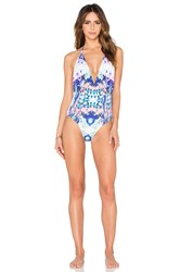 6 Shore Road Coast One Piece Swimsuit Blue