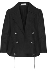 Monse Wool Blend Blazer Black