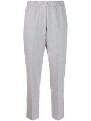Peserico Cropped Pull On Trousers 60