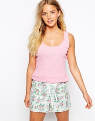 Cath Kidston Kingswood Rose Vest And Short Pj Set Kingswoodrose