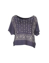 Denim And Supply Ralph Lauren Topwear Sweatshirts Women Purple