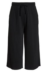 Plus Size Bp. Wide Leg Crop Sweatpants Black