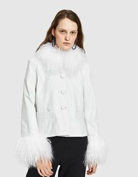Saks Potts Dorthe White Jacket