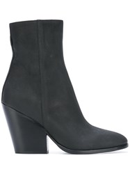 A.F.Vandevorst Brushed Boots Black