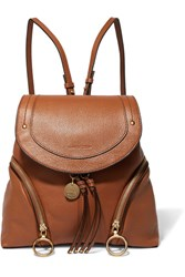 See By Chloe Olga Textured Leather Backpack Tan