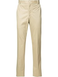 Thom Browne Tailored Trousers Nude Neutrals