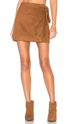 Cupcakes And Cashmere Deegan Skirt Brown