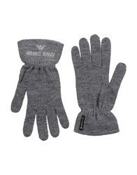 Armani Jeans Accessories Gloves Women Grey