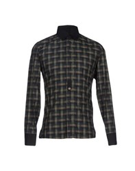 Bikkembergs Shirts Shirts Men Dark Green