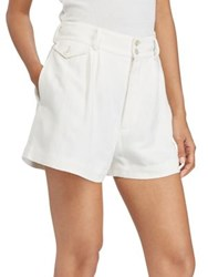 Polo Ralph Lauren Linen Shorts White