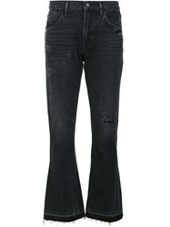 Citizens Of Humanity 'Sasha' Flared Pants Black