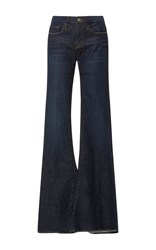 Frame Denim La Bell Flared Jeans Dark Wash
