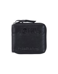 Calvin Klein Jeans Wallets Black