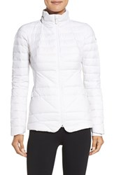 The North Face Women's Lucia Hybrid Down Jacket Tnf White