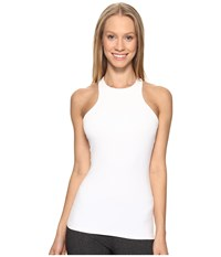 Beyond Yoga Under Lock And Keyhole Tank Top White Women's Sleeveless