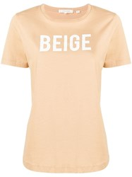 Chinti And Parker 'Beige' Crew Neck T Shirt 60