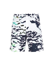 Tim Coppens Printed Patch Pocket Cotton Shorts