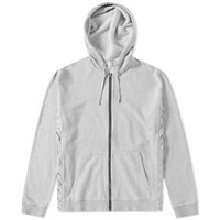 Faith Connexion Laced Hooded Sweat Grey