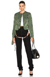J.W.Anderson J.W. Anderson Cropped Corded Jacket In Green
