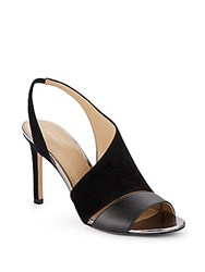 Saks Fifth Avenue Colton Slingback Sandals Black