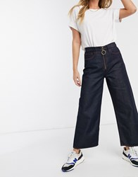Mih Jeans Paradise Cropped Jean Blue