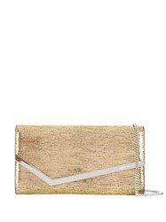 Jimmy Choo Emmie Cluch Gold