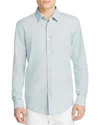 Boss Ronni Slim Fit Button Down Shirt Teal