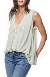 Free People Women's New Vibes Tank Mint