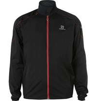Salomon S Lab Trail Lightweight Stretch Shell Running Jacket Black