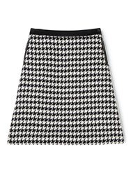 Precis Petite Sian Houndstooth Skirt Multi Coloured