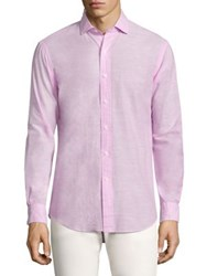 Polo Ralph Lauren Solid Estate Button Down Shirt Pink