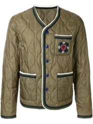 Ermanno Scervino Quilted County Jacket Green