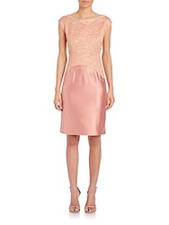 Lafayette 148 New York Josette Jacquard Dress Bouquet