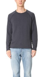 Billy Reid Indian Crew Pullover Midnight