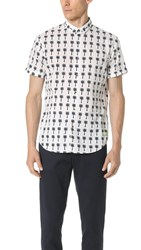 Scotch And Soda Short Sleeve Crispy Cotton Shirt Combo D