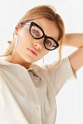 Urban Outfitters Cat Eye Readers Black