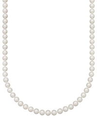 Belle De Mer Pearl Necklace 20' 14K Gold A Akoya Cultured Pearl Strand 8 8 1 2Mm
