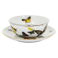 Christian Lacroix Butterfly Parade Soup Cup And Saucer