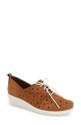Women's The Flexx 'Run Crazy Two' Perforated Wedge Sneaker Virginia Nubuck Leather