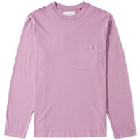 Our Legacy Long Sleeve Box Tee Purple