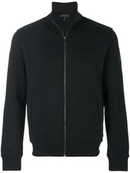 Belstaff Zip Up Sweatshirt Jacket Cotton Black