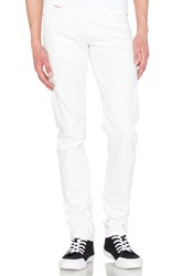 Naked And Famous Super Skinny Guy White Stretch Selvedge 11Oz