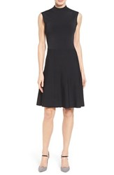 Women's Halogen Mock Neck A Line Dress